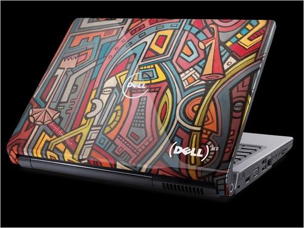 Gezellig printje op de laptop