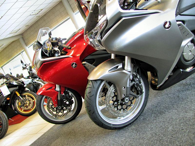 Honda bij Motoport Den Bosch
