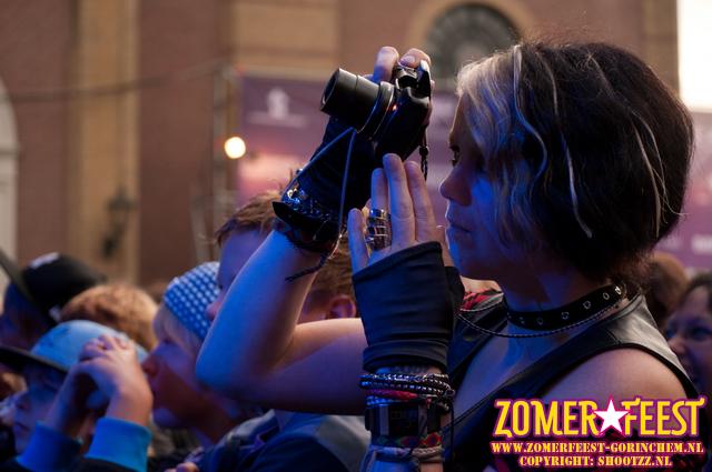 Foto's maken tijdens Zomerfeest