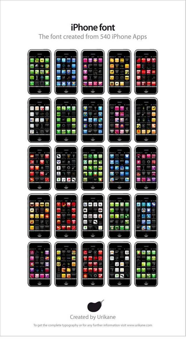 iphone-font