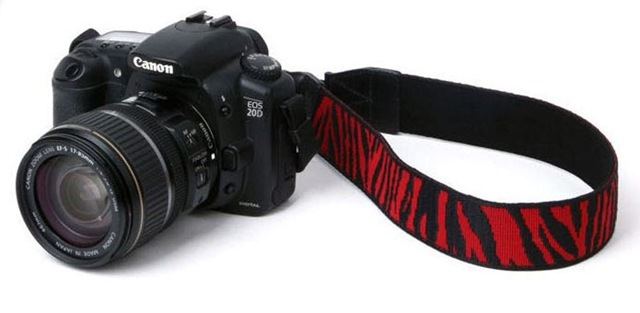 Zebraprint camera strap