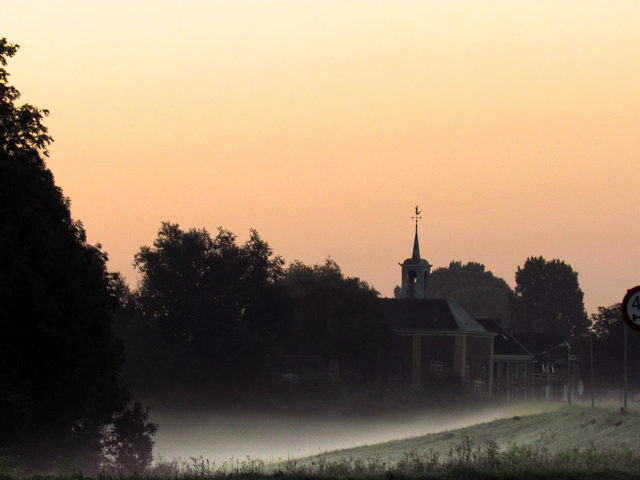 Wandelen bij zonsopgang