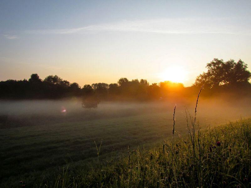 Mooie zonsopgang (1-8-2011)