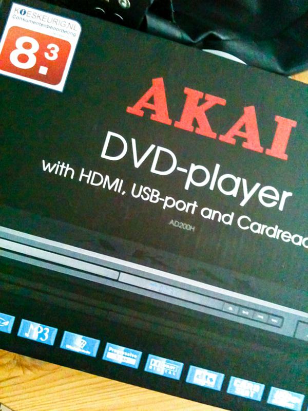 AKAI DVD-speler
