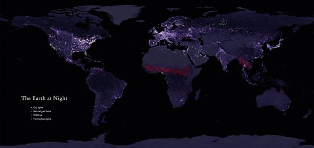 Lichtjes van de wereld