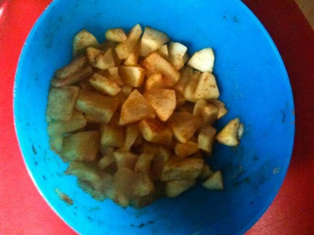 Appel met kaneel
