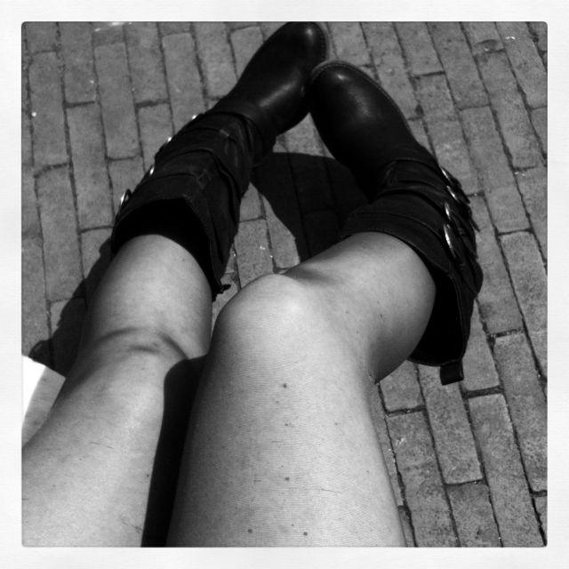 Nieuwe laarzen
