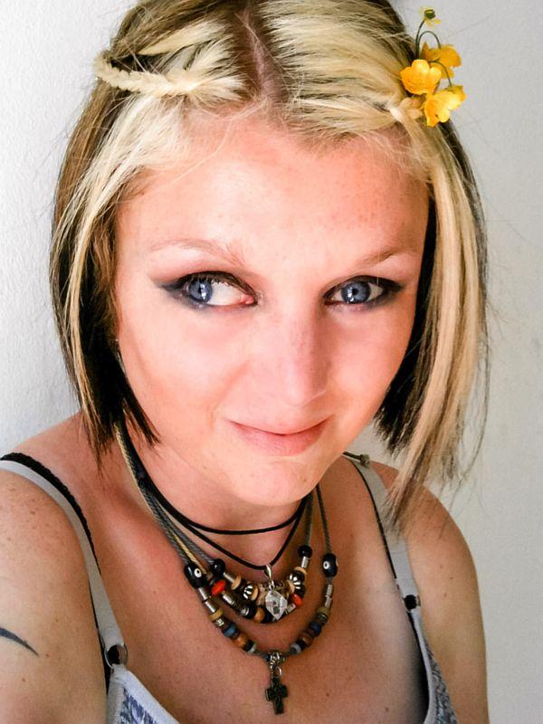 Bloemen in mijn haar