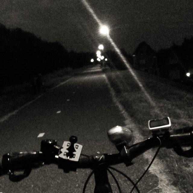 Fietsen in het donker