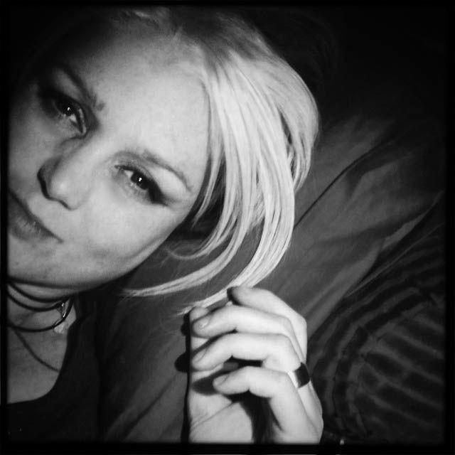 Zwart-wit foto van mij