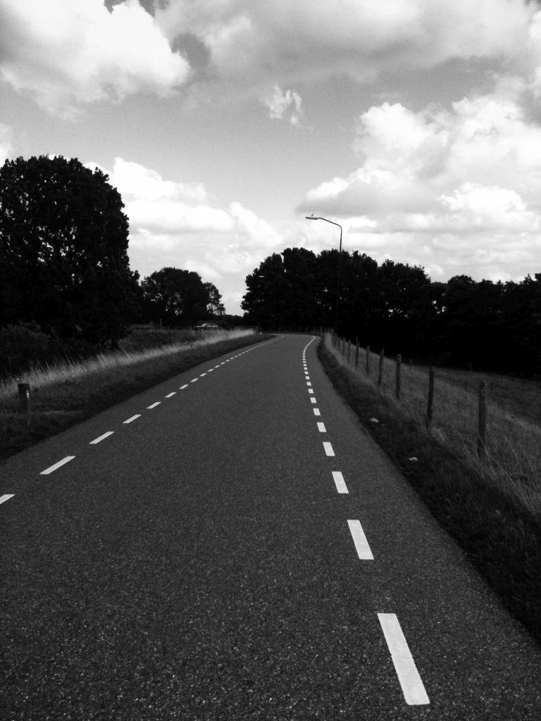 De dijk richting Woudrichem