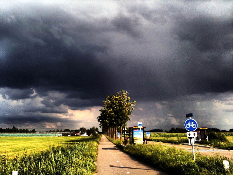Donkere lucht