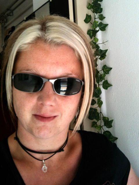 Ik met zonnebril