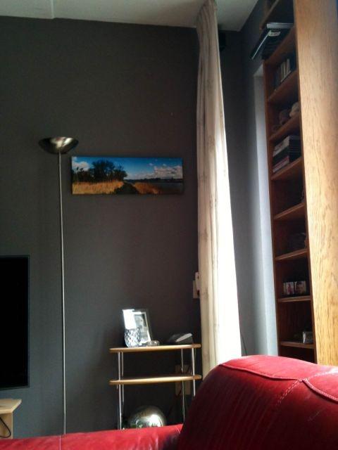 Uitzicht op mijn canvas