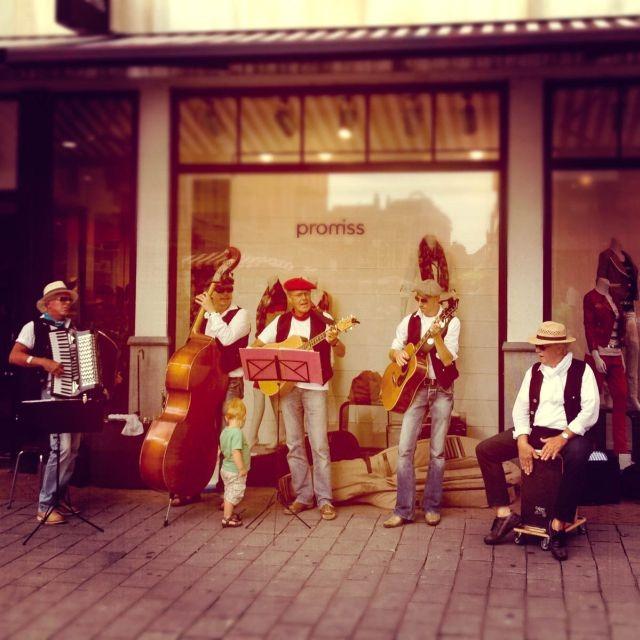 Muzikanten in de stad