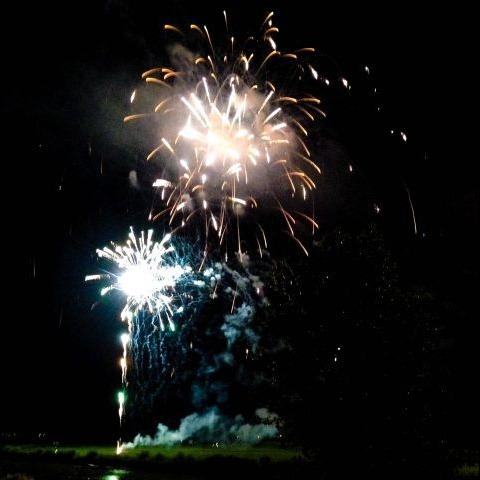 Zomerfeest vuurwerk
