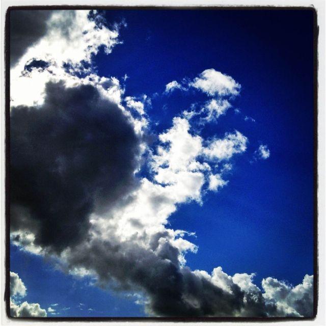 Mooie wolkenlucht