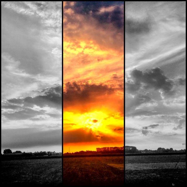 Lucht collage