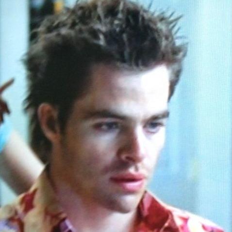 Chris Pine in 'Blind Guy Dating'