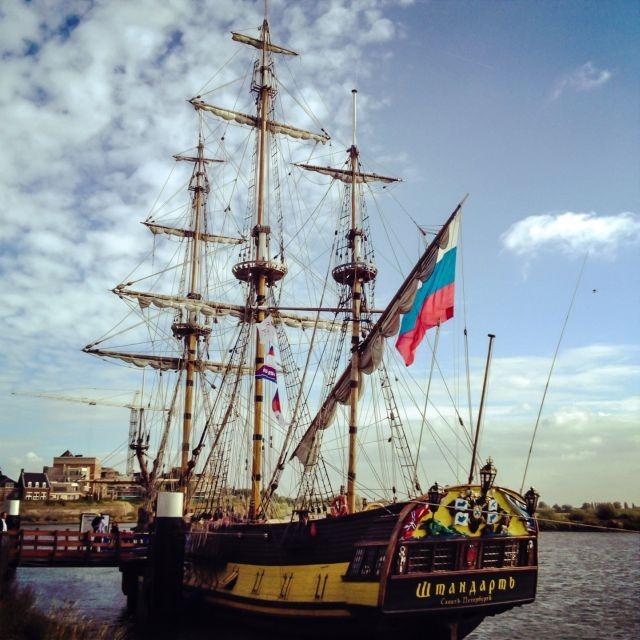 Mooi schip in Gorinchem