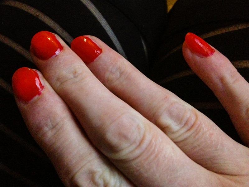 Rode nagellak