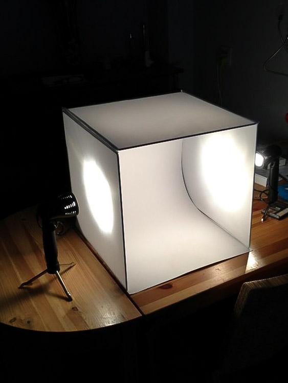Fotograferen in de softbox