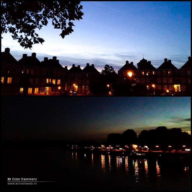 Gorkum by night