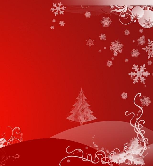 kerstboom-rood