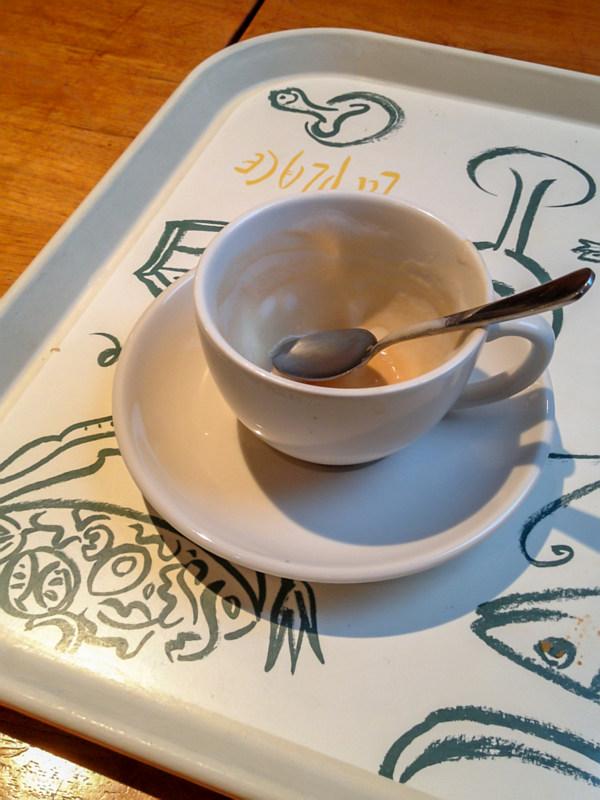 Koffie gedronken bij La Place