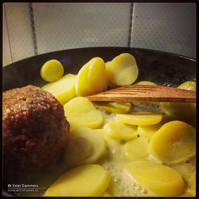 Gehakt en aardappeltjes