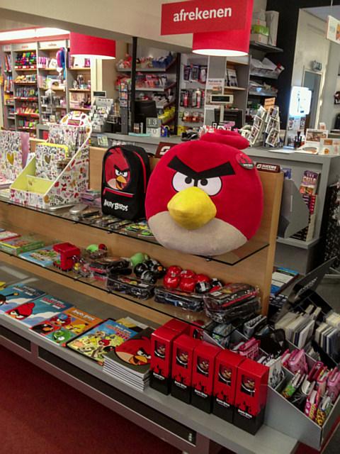 Angry Birds schap
