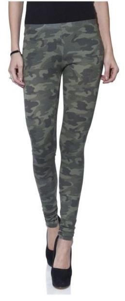legging met camouflageprint