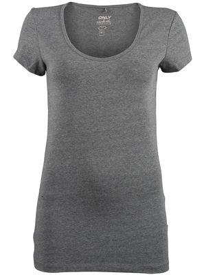 grijs basic shirt