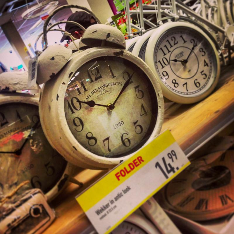 Grappige klokken bij Xenos