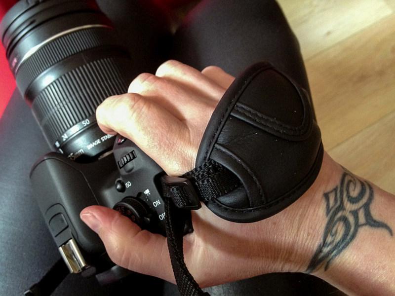 Handig camera-polsbandje!