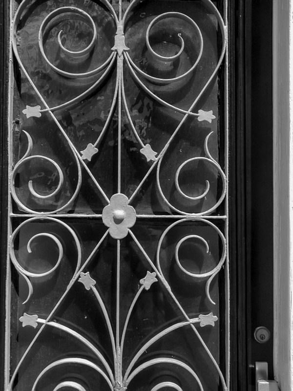 Bewerkte deur