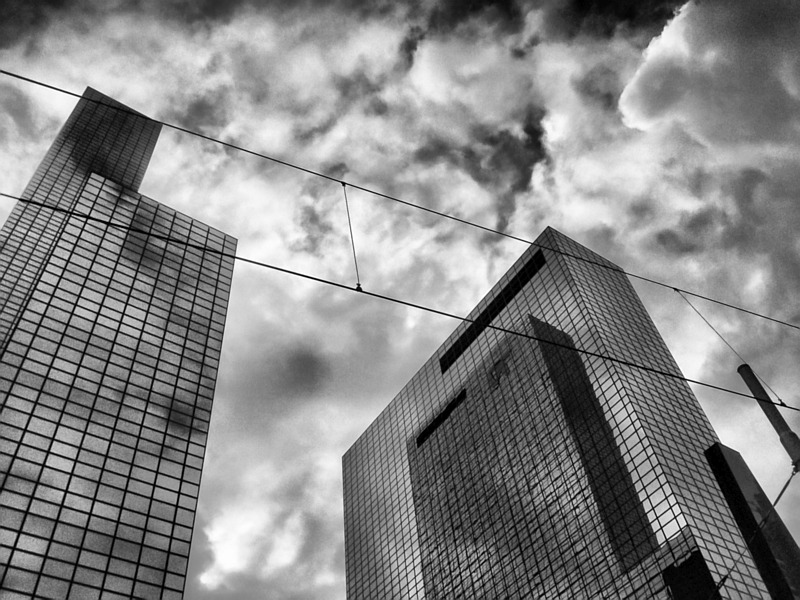 Wolkenkrabbers in Rotterdam