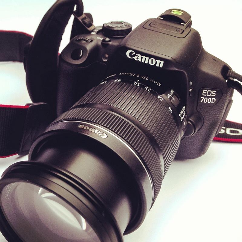 Mijn Canon EOS 700D