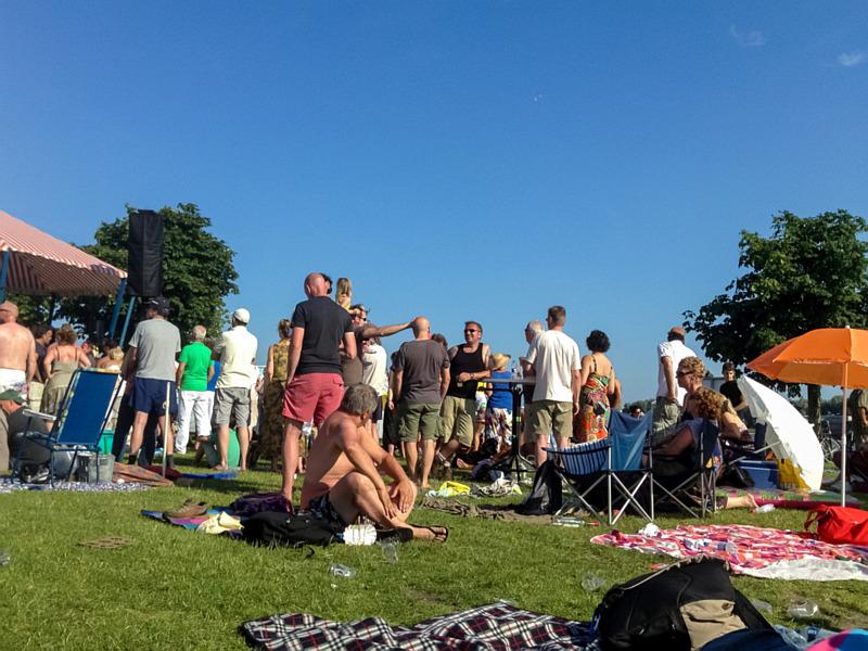 Hippiefestival op zondag