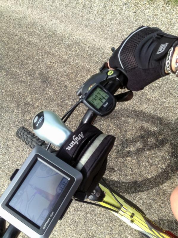 Fietsen met GPS