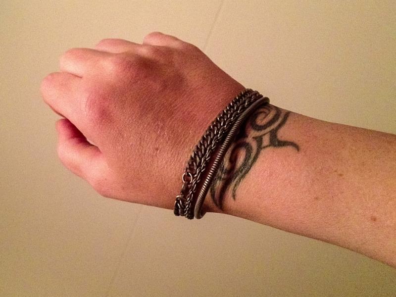 Nieuwe armbandjes van H&M