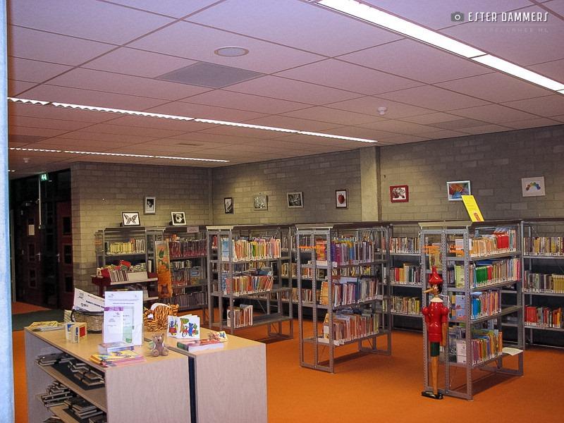 Exposeren in de bibliotheek (3-8-2007)
