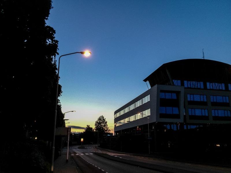 Stadhuis Gorinchem in de avond