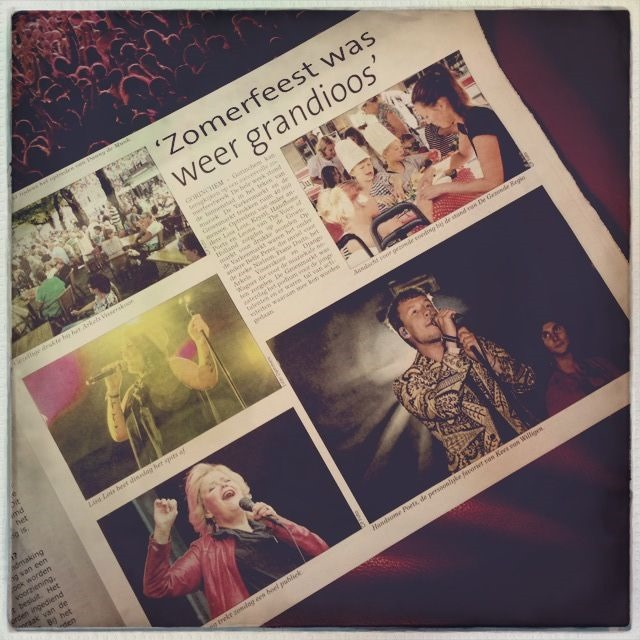 Mijn foto in de krant