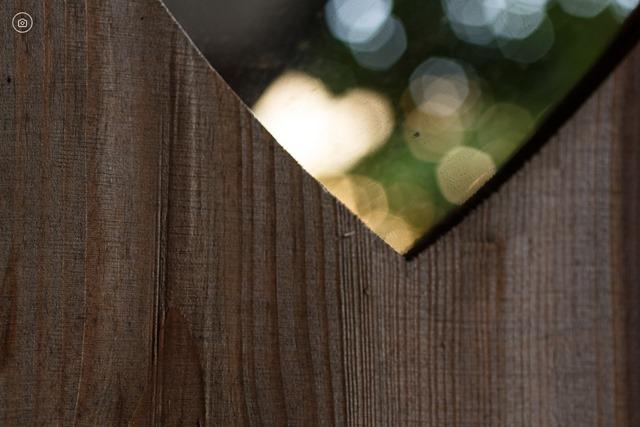 Spiegel in houten lijst