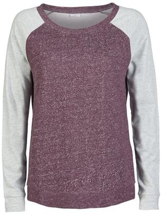 Paars met grijze ONLY sweater