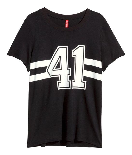 Zwart t-shirt met 41 opdruk