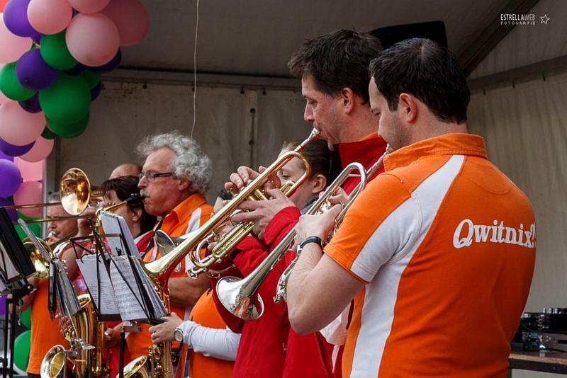 Muziekfestijn op het Plein