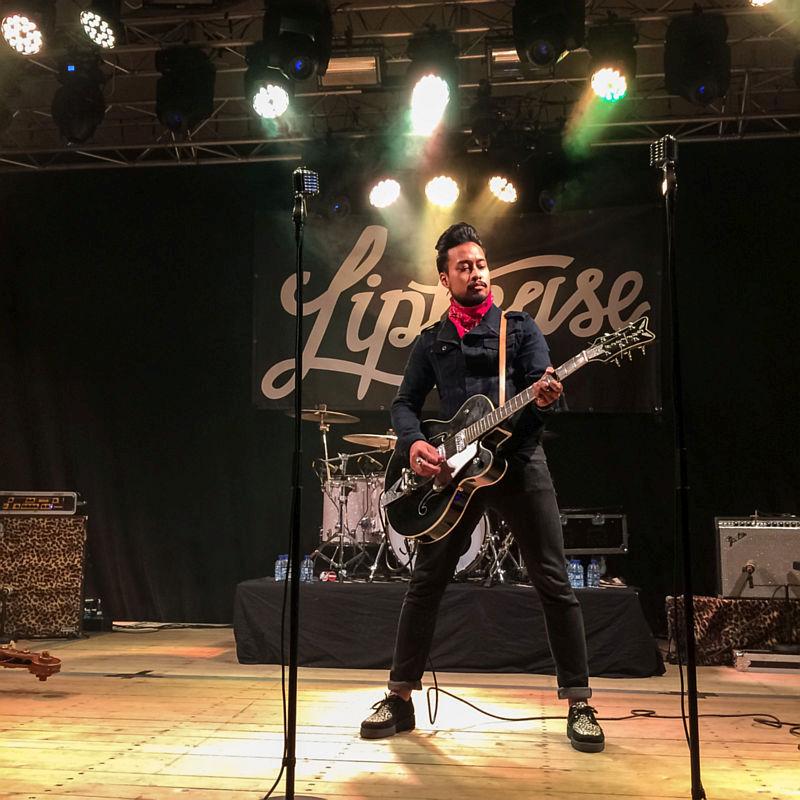 Gitarist van Liptease