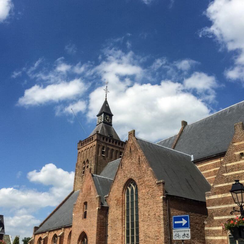 De kerk van Leerdam